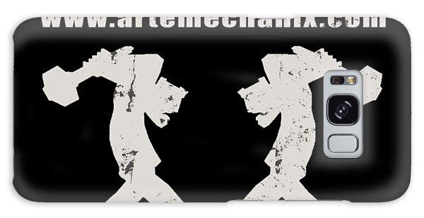 arteMECHANIX OFFICIAL LOGO  GRUNGE Galaxy Case