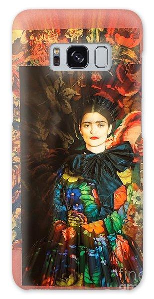 Artistic Frida Kahlo Stream  Galaxy Case