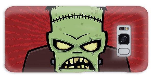 Halloween Galaxy Case - Frankenstein Monster by John Schwegel