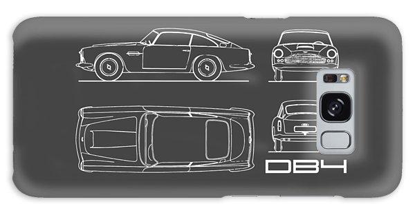 Martin Galaxy Case - Aston Martin Db4 Blueprint by Mark Rogan