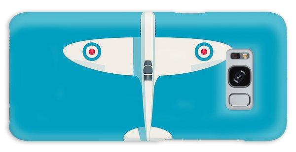 Ww2 Galaxy Case - Supermarine Spitfire Wwii Raf Fighter Aircraft by Ivan Krpan