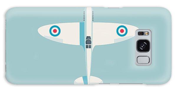 Ww2 Galaxy Case - Supermarine Spitfire Fighter Plane - Sky by Ivan Krpan