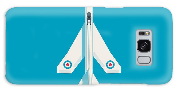 English Galaxy Case - English Electric Lightning Fighter Jet Aircraft - Blue by Ivan Krpan