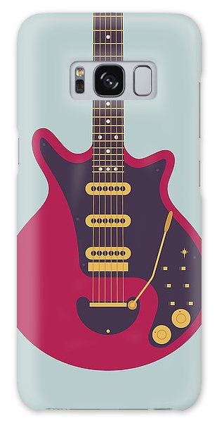 Classic Rock Galaxy Case - Red Special Guitar - Grey by Ivan Krpan