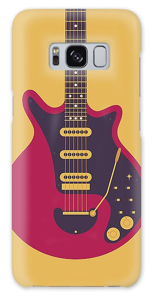 Classic Rock Galaxy Case - Red Special Guitar - Gold by Ivan Krpan
