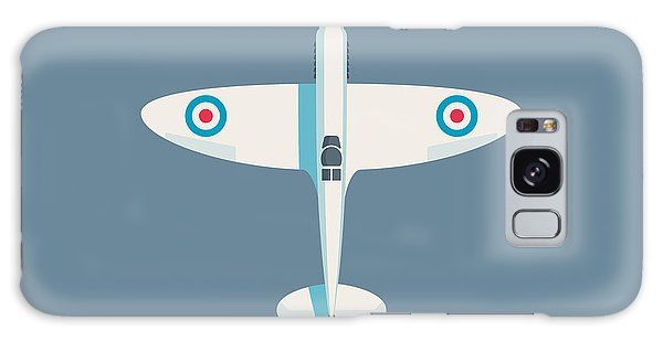 Ww2 Galaxy Case - Supermarine Spitfire Wwii Fighter Aircraft - Slate by Ivan Krpan