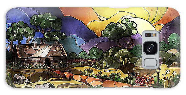 The Shepherd's Cottage Galaxy Case