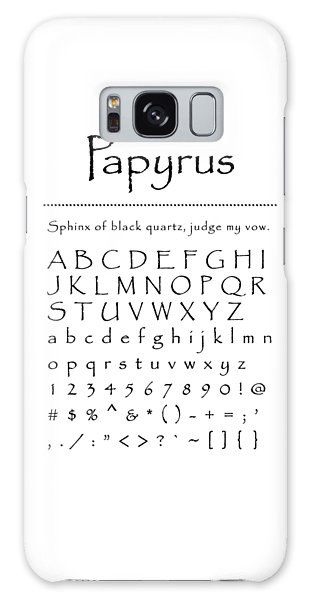 Papyrus - Most Wanted Galaxy Case