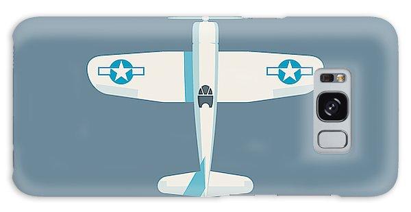 Ww2 Galaxy Case - Corsair Fighter Aircraft - Slate by Ivan Krpan