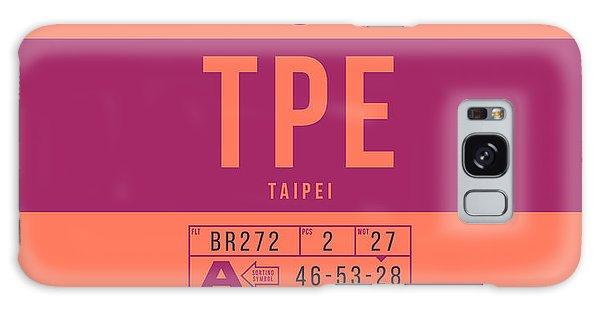 Pass Galaxy Case - Retro Airline Luggage Tag 2.0 - Tpe Taipei Taoyuan Airport Taiwan by Ivan Krpan