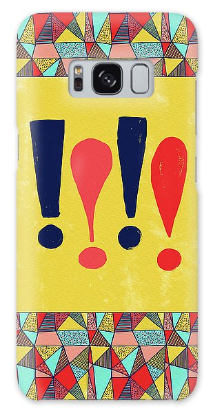Exclamations Pop Art Galaxy Case