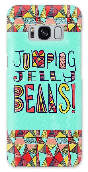 Jumping Jelly Beans Galaxy Case