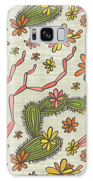 Flowering Cacti Elements Galaxy Case