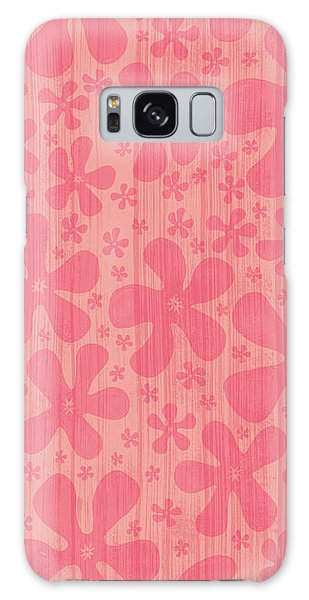 Tropical Floral Pattern Galaxy Case