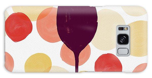 Bold Modern Wine Glass Art Galaxy Case