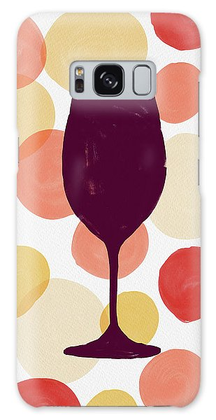 Bold Modern Wine Glass Art Galaxy Case
