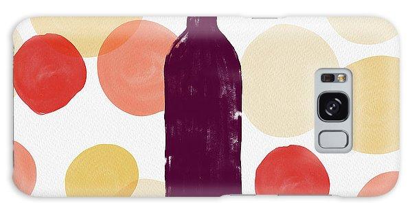 Bold Modern Wine Bottle Art Galaxy Case