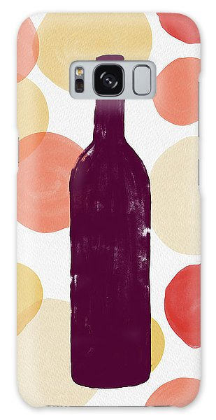 Bold Modern Wine Bottle Art Galaxy Case