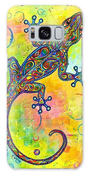 Electric Gecko Galaxy Case