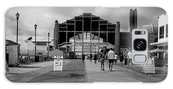 Galaxy Case featuring the photograph Asbury Park Boardwalk by Steve Stanger