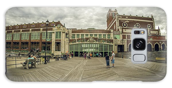 Galaxy Case featuring the photograph Asbury Park Convention Hall by Steve Stanger