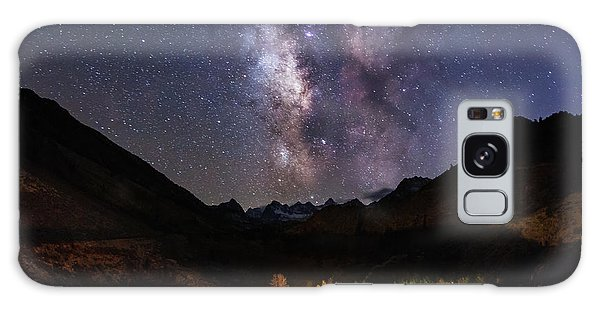 Galaxy Case featuring the photograph Aspen Nights by Tassanee Angiolillo