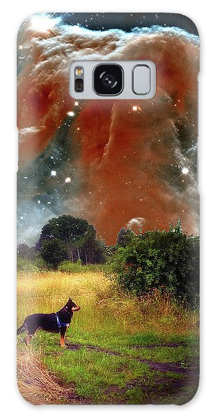 Galaxy Case featuring the photograph Aspiring Lunar Rover Outer Space Image by Bill Swartwout Fine Art Photography