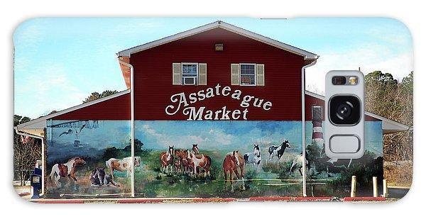 Galaxy Case featuring the photograph Assateague Market by Bill Swartwout Fine Art Photography