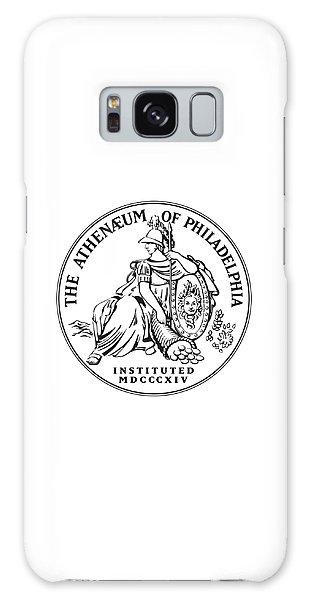 Athenaeum Of Philadelphia Logo Galaxy Case