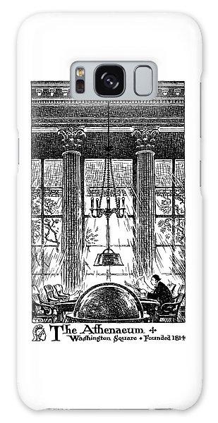 Athenaeum Reading Room Galaxy Case