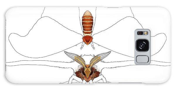 Galaxy Case - Atlas Moth1 by Joan Stratton
