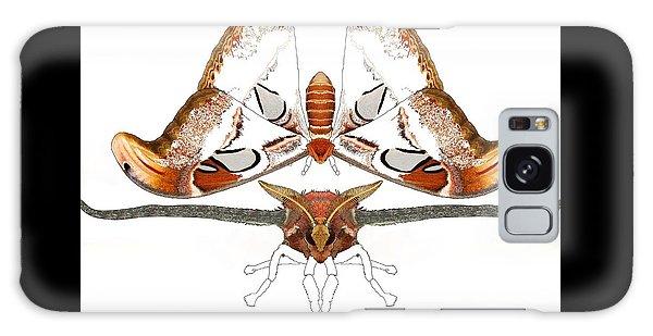 Galaxy Case - Atlas Moth2 by Joan Stratton