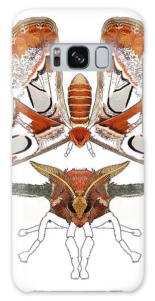 Galaxy Case - Atlas Moth3 by Joan Stratton