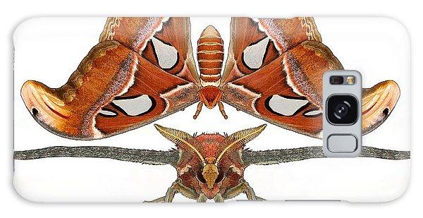 Galaxy Case - Atlas Moth7 by Joan Stratton