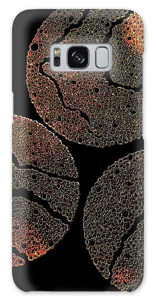 Atoms Ink Artwork Galaxy Case