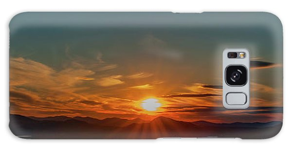 Galaxy Case featuring the photograph Attean Pond Sunset by Rick Hartigan