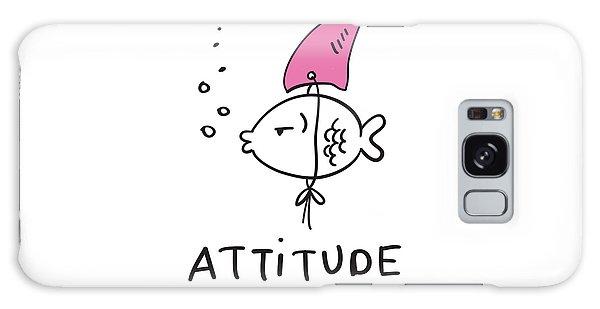 Attitude - Baby Room Nursery Art Poster Print Galaxy Case