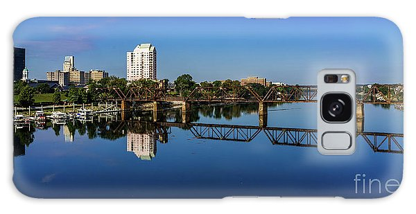 Augusta Ga Savannah River Panorama Galaxy Case