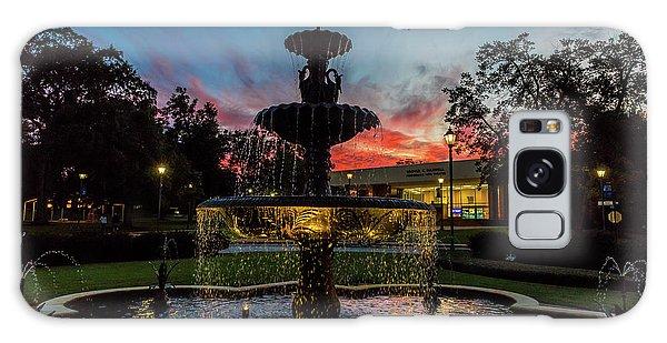 Augusta University Fountain Sunset Ga Galaxy Case