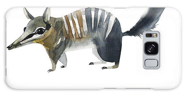 Australia Galaxy Case - Australian Animals Watercolor by Kat branches