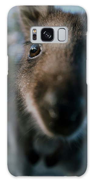 Australian Bush Wallaby Outside During The Day. Galaxy Case