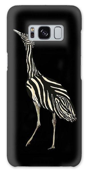 Galaxy Case - Australian Bustard Zebra 1 by Joan Stratton