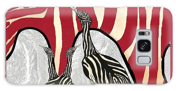 Galaxy Case - Australian Bustard Zebra 5 by Joan Stratton