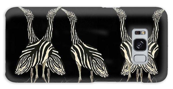 Galaxy Case - Australian Bustard Zebra 7 by Joan Stratton