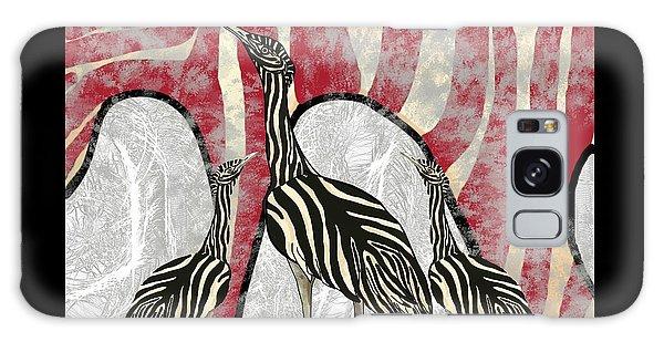 Galaxy Case - Australian Bustard Zebra 8 by Joan Stratton