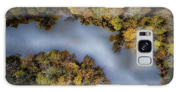 Autumn Arrives At The River Galaxy Case