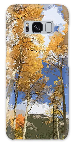 The Sky Galaxy Case - Autumn Aspens In The Rockies by Dan Sproul