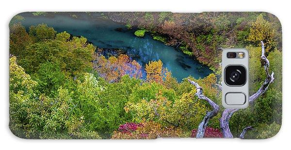 Autumn At Ha Ha Tonka State Park Galaxy Case