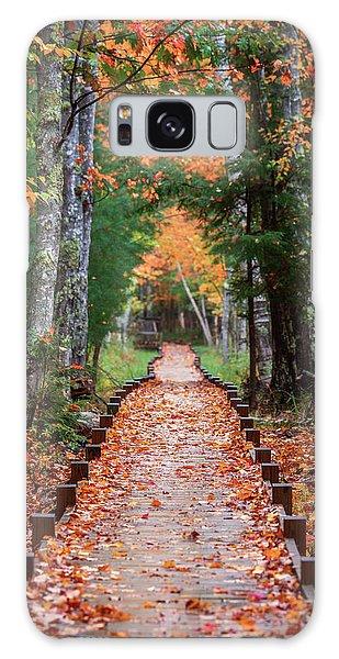 Autumn At Jesup Path Galaxy Case