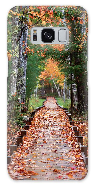 Autumn At Jesup Path Galaxy Case